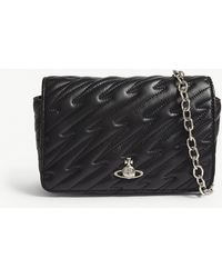 Vivienne Westwood - Coventry Quilted Leather Mini Cross-body Bag - Lyst
