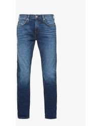 True Religion Rocco No Flap Relaxed-fit Skinny Jeans - Blue
