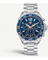 Tag Heuer Formula 1 Chronograph Blue Dial Watch Caz1014.ba0842