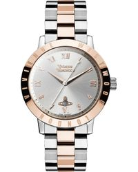 Vivienne Westwood | Vv152rssl Stainless Steel And Pvd Rose Gold-plated Watch | Lyst