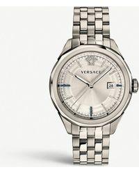 Versace Vera00518 Glaze Stainless Steel Watch - Metallic