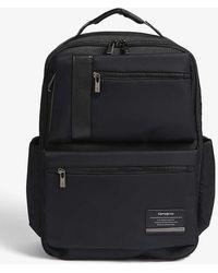 Samsonite Jet Black Openroad Nylon Briefcase