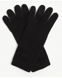 Johnstons Cashmere Gloves - Black