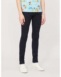 J Brand Mick Skinny Comfort-stretch Jeans - Black
