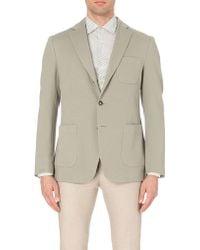 J.Lindeberg Hopper Cotton-jersey Jacket - Metallic