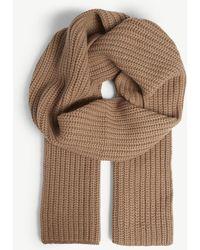 JOSEPH Wool Scarf - Natural