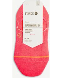 Stance - Super Invisible Striped Cotton-blend Socks - Lyst