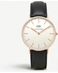 Daniel Wellington 0508dw Classic Sheffield Ladies Watch - Black