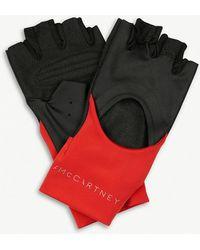 adidas By Stella McCartney - Contrast Panel Training Gloves - Lyst