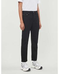 Acne Studios River Straight Jeans - Black