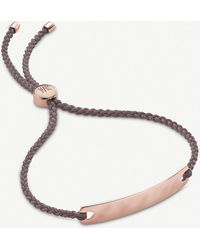 Monica Vinader Havana Friendship Bracelet - Grey