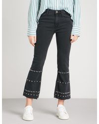 M.i.h Jeans - Marty Flared High-rise Jeans - Lyst