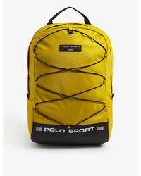 Polo Ralph Lauren Sport Logo Nylon Backpack - Yellow