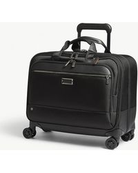 Briggs & Riley Black @work Spinner Nylon Briefcase