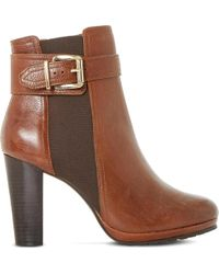 Dune Prowl Ankle Boots - Brown
