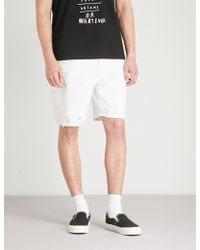 DIESEL - D-willoh Denim Shorts - Lyst