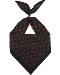 The Kooples - Bandana Print Silk Scarf - Lyst