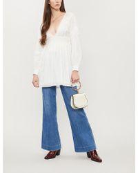 Free People - Sugarpie Cotton Mini Dress - Lyst