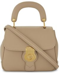 Burberry - Dk88 Trench Small Textured Leather Shoulder Bag - Lyst