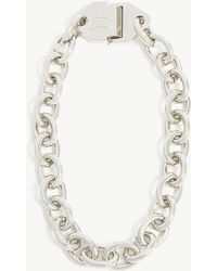 Off-White c/o Virgil Abloh - Metal Chain Necklace - Lyst