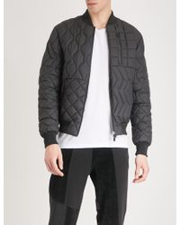 Christopher Raeburn - Quilted Shell Bomber Jacket - Lyst
