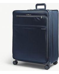 Briggs & Riley Navy Blue Baseline Xl Expandable Suitcase