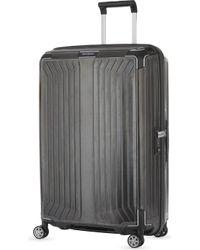 Samsonite - Lite-box 4 Wheel Spinner Suitcase 75cm - Lyst