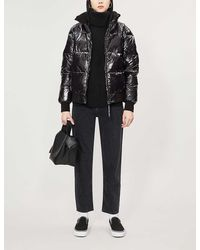 Calvin Klein Quilted Puffed Shell Jacket - Black