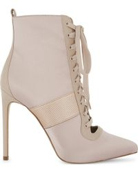 ALDO Ryma Satin Boots - Pink