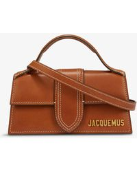 Jacquemus - Le Bambino Leather Top Handle Bag - Lyst