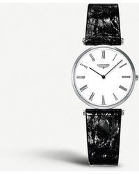 Longines L4.512.4.11.2 La Grande Classique Steel Watch - White