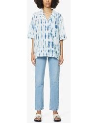 Won Hundred Billy Straight-leg High-rise Organic-denim Jeans - Blue