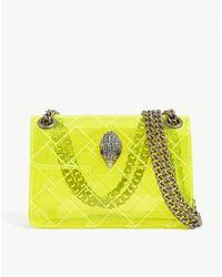Kurt Geiger Kensington Mini Transparent Pvc Cross-body Bag - Yellow