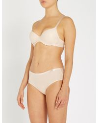 e2f2bc010c54 Chantelle Absolute Invisible Stretch Briefs - Lyst