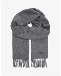 Mulberry Cashmere Scarf - Grey