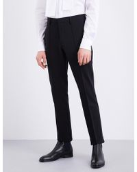 Burberry - Riding Stretch-jersey Trousers - Lyst