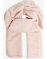 Ted Baker Woven Glitter Scarf - Pink