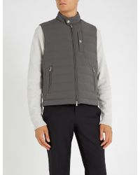 Brunello Cucinelli - Quilted Shell Gilet - Lyst