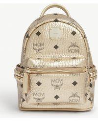 MCM Visetos Stark Backpack - Metallic
