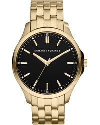 Armani Exchange | Ax2145 Gold-plated Watch | Lyst