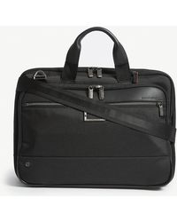 Briggs & Riley @work Medium Expandable Nylon Briefcase - Black