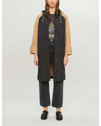 Claudie Pierlot Gipsye Hooded Woven Jacket - Black