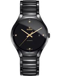 Rado - R27056712 True Ceramic And Diamond Watch - Lyst