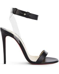 Christian Louboutin - Jonatina 100 Leather Sandals - Lyst