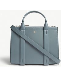 Theory - West Mini Leather Tote - Lyst