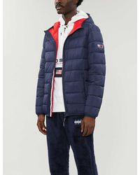Tommy Hilfiger Padded Shell Hooded Jacket - Blue
