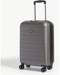 Delsey Segur 2.0 Four-wheel Cabin Suitcase 55cm - Gray