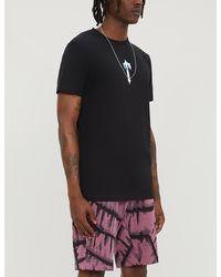 Trapstar Decoded Logo-print Cotton-jersey T-shirt - Black