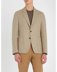 Paul Smith - Soho-fit Textured Wool Jacket - Lyst