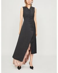 Y. Project - Asymmetric Button-up Dress - Lyst